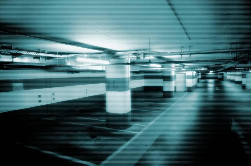 Caméra de surveillance à vision nocturne pour parking
