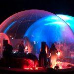 Utiliser un dôme gonflable pour créer une ambiance festive